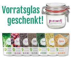Purewell Superfood Pulver + Samen: Moringa - Camu Camu - Acai - Chia - Chlorella - Hanf - Maca - NEU: Apfel Ballaststoff Mix