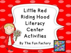 Little Red Riding Hood Center Activities – Bundle