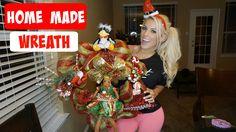 Making a wreathe & Home AB workout | Vlogmas 9