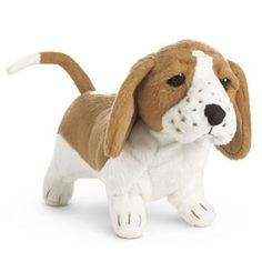 American-Girl-Kits-Dog-Grace-Basset-Hound-Puppy-New-in-A-Box