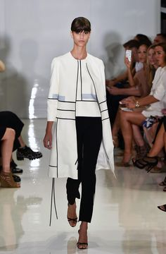 Ralph Rucci spring 2015 collection. Photo: Thomas Concordia/WireImage/Getty Images.