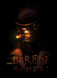 baron samedi by unded on DeviantArt Baron Samedi, Papa Legba, Witchy Wallpaper, Voodoo Hoodoo, Witch Doctor, Demon Art, Arte Horror, Fandoms, Book Of Shadows