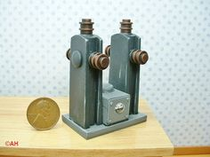 dollhouse miniature chemistry instruments | Sorry, this item sold. Have MadScienceMiniatures make something just ...