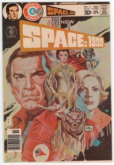 Space:1999 Comics #7 NM, Joe Staton artwork on the TV series adaptation, Pat Boyette cover art, Last issue. $22