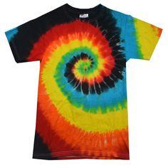 Spiral Eclipse Tie Dye
