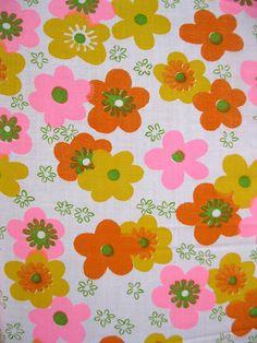 Love this retro fabric!