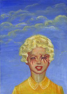Por Aleksandra Waliszewska Grunge Art, Photography Themes, Art Folder, Scary Art, Art Sculpture, Renaissance Art, Psychedelic Art, Horror Art, Skull Art