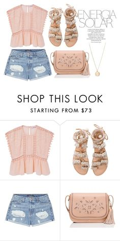 """""""Desert Rose"""" by sieratrujillo on Polyvore featuring MANGO, Elina Linardaki, J Brand, Kate Spade, Magdalena and NLY Accessories"""