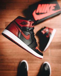 Nike Air Jordan - Black and Red