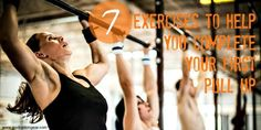 If you're struggling to complete your first pull up then try these 7 exercises and start seeing progress in days!