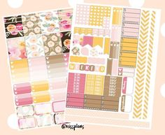 Spring and Floral Themed Free Planner Printables