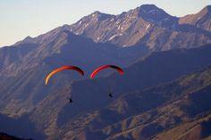 Sun Valley, Idaho | www.visitsunvalley.com | Summer tandem flight with Fly Sun Valley