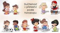 Slučitelnost v přátelství podle horoskopu | ProNáladu.cz