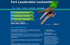 New Locksmiths added to CMac.ws. Fort Lauderdale Locksmith in Fort Lauderdale, FL - http://locksmiths.cmac.ws/fort-lauderdale-locksmith/20087/