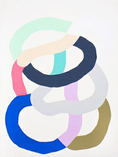 Kirra Jamison, Loop (antique white 10)