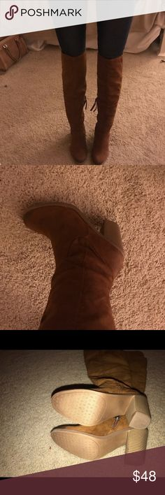 Dolce Vita over the knee boots *NWT* Brand new! Extremely comfortable! Dolce Vita Shoes Over the Knee Boots