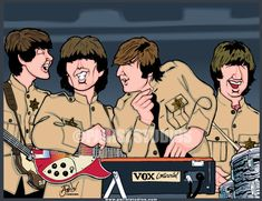You may be familiar with fan-fiction based on popular movies, books and tv series like Star Trek. But what about fan-fiction based on popular music groups? Framed Canvas Prints, Canvas Frame, Canvas Art, Beatles Art, The Beatles, Shea Stadium, Acrylic Panels, Poster Prints, Art Prints