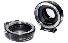 Metabones Speedbooster promises faster EF lenses when mounted on NEX cameras