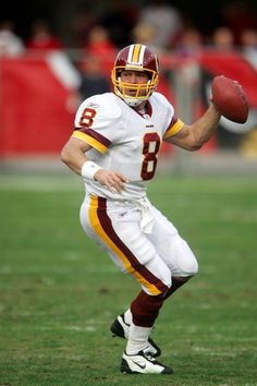 View and license Mark Brunell Redskins pictures & news photos from Getty Images. Redskins Players, Redskins Fans, Redskins Football, Nfl Football Players, Football Helmets, Football Cards, College Football, Redskins Pictures, Football Pictures
