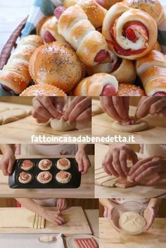 Benedetta's panbrioche yoghurt buffet mix, 3 step-by-step recipes for delicious savory snacks with frankfurters, spreadable cheese and speck, ham and provola cheese. Antipasto, Rustic Buffet, Party Food Platters, Bread Shaping, Sports Food, Savory Snacks, Yummy Appetizers, Love Food, Tapas
