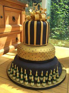 Icing A Madeira Birthday Cake