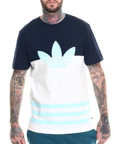 Love this Colorblock Trefoil S/S Tee on DrJays and only for $35. Take 20% off your next DrJays purchase (EXCLUSIONS APPLY). Click on the image above to get your discount.