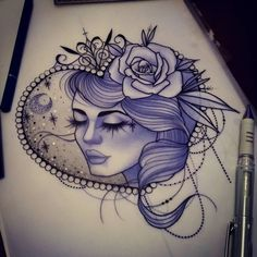Available! Email me (sophie.adamson@hotmail.co.uk) or stop by The Projects Tattoo to reserve it  #tattoo #design #art #artnerd #uktattoo #plymouth #tattooworkers #ntgallery #ladytattooers #ladyface #neotraditional #drawing #tattoosnob #tattooartist #instagood Do not copy.