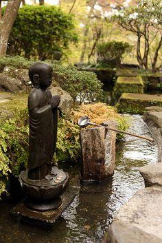 Japan, April 2010   09/04/2010. Day 2. Kamakura Kosokuji Tem…   Andrew Mawby   Flickr ~ETS #fountain