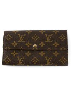 LOUIS VUITTON VINTAGE 'Sarah' wallet #accessories #louisvuitton #designer #covetme #louisvuittonvintage