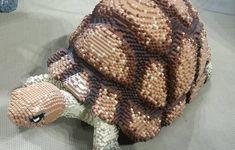 A lego tortoise