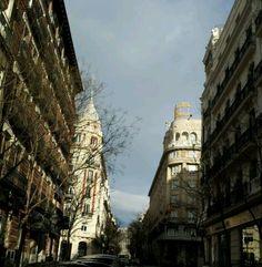 Madrid. Calle Velazquez con Villanueva.