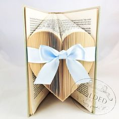 Pale Blue, by The Folded Page www.thefoldedpage.com