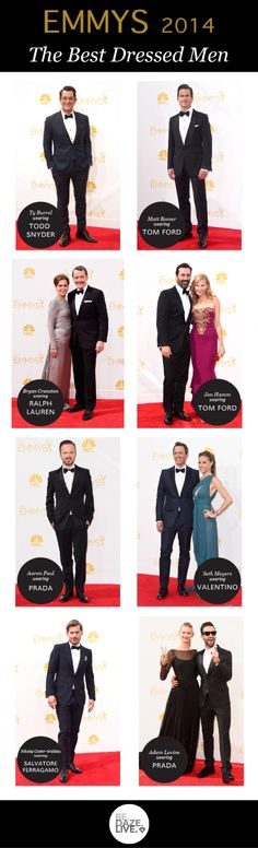 Emmys 2014: Our Top Best Dressed Men