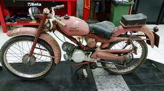 Moto Guzzi Motoleggera 65 inizio dei lavori per restauro completo