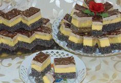 Prăjitură Orhideea, culoare si savoare intr-un dulce unic si special   Delicioase.net Romanian Desserts, Cake Recipes, Dessert Recipes, Oreo Dessert, Food Cakes, Waffles, Sweet Treats, Cheesecake, Deserts