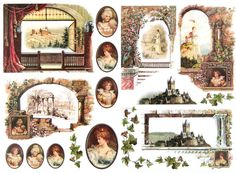 Classic Decoupage Paper,Scrapbooking Sheets ,Craft Paper Baroque