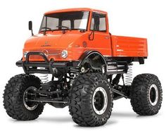 This is the Tamiya Mercedes-Benz Unimog 406 Crawler Truck. Looking for a rock crawler Tamiya style? The Unimog 406 truck offers great looks in. Rc Cars And Trucks, 4x4 Trucks, Lifted Trucks, Cool Trucks, Cool Cars, Semi Trucks, Diesel Trucks, Chevy Trucks, Mercedes Benz Unimog