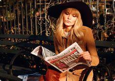 Natasha Poly for Vogue Paris, February 2013. Editorial: I love NY. Photographer: Terry Richardson. Stylist: Geraldine Saglio