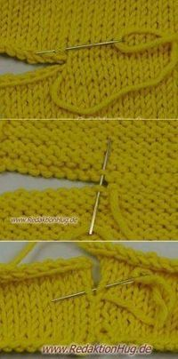 Ideas for knitting patterns baby tips Knitting Help, Knitting Stiches, Sweater Knitting Patterns, Knit Patterns, Crochet Stitches, Baby Knitting, Techniques Couture, Sewing Techniques, Knit Or Crochet