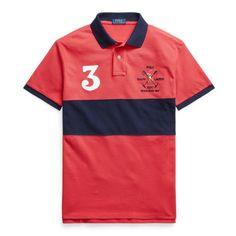 Polo Ralph Lauren, Ralph Lauren France, Ralph Lauren Poloshirt, Polo Team, Le Polo, Slim Fit Polo, Workout Shirts, Custom Shirts, Polo Shirt