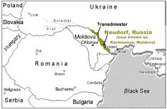The colony of Neudorf was founded in 1809 by 100 German families.The settlers received a total of 91,424 rubles from the Imperial Crown for subsistence, settlement and seed.  By 1848, the village increased to 208 families and to 1,896 individuals by 1914.  After the Germans left the village in the late 1800's and early 1900's, the village was renamed Karmanova.