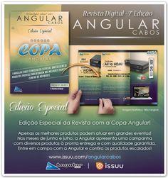Copa Angular na Edição Especial da Revista Digital Angular Cabos.