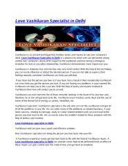 Love Vashikranan Specialist in Delhi