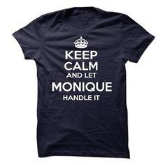 Monique - #printed tee #sweater pattern. PRICE CUT => https://www.sunfrog.com/Names/Monique-59710661-Guys.html?68278