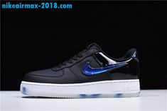 d783b64772f2 Discount PlayStation x Nike Air Force 1 Low New Mens Casual Shoes Navy Blue  Black