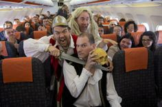 Shakes on a plane - world record Shakespeare performance onboard flight