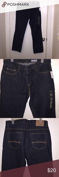 Blue denim jeans Aeropostale slim straight  denim jeans 32/30 Aeropostale Jeans Slim Straight