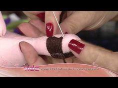 Aprenda a fazer uma linda boneca de pano! - YouTube
