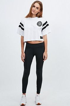 Reebok Mesh Moves Leggings in Black - Urban Outfitters