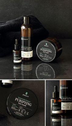 Phenome - organic skincare products on Behance
